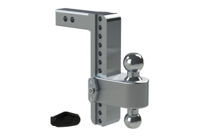 Weigh Safe 180degree Turnover Ball 10in Drop Hitch w/ 2in Shaft (Part Number: )
