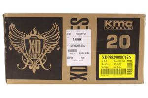 XD Series Addict Matte Black 20x9 8x6.5 (Part Number: )