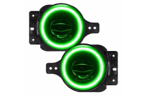 Oracle High Performance 20W LED Fog Lights - Green - JL/JT Sport