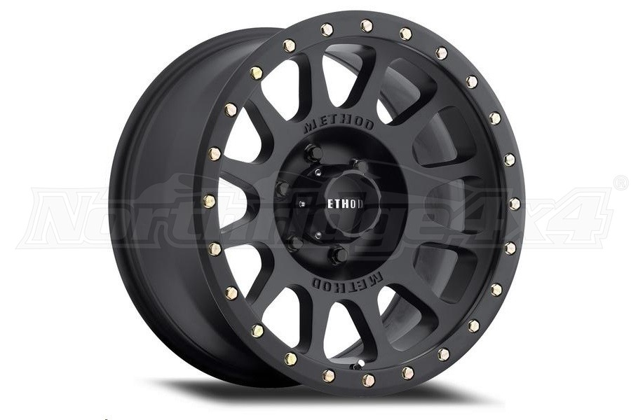 Method Race Wheel 305 Series NV Wheel, Matte Black 17x8.5, 6x135     (Part Number:MR30578516500)