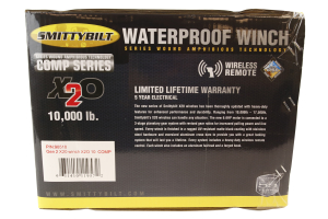 smittybilt x2o 10k winch waterproof gen2 and fairlead (part number: )