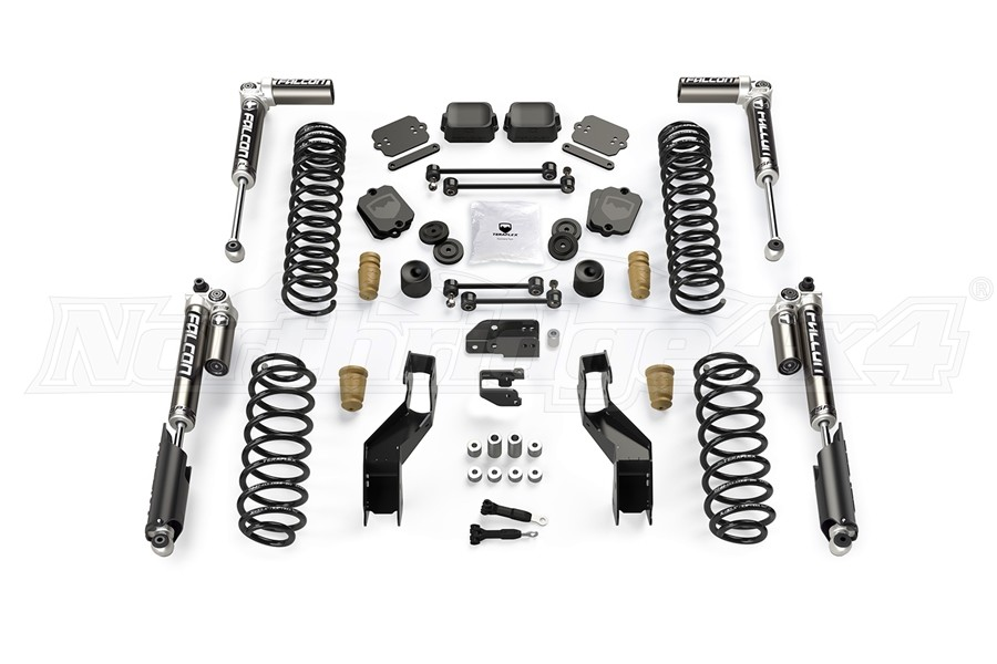 Teraflex 3.5IN Sport ST3 Suspension System w/ Falcon SP2 3.1 Shocks - JL 2Dr