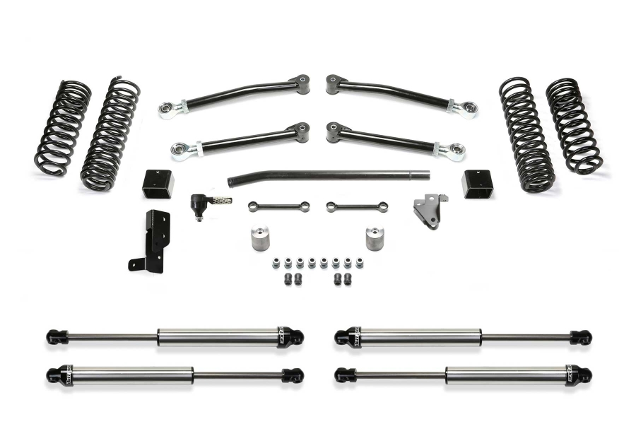 Fabtech 3in Trail Suspension System W/ Dirt Logic 2.25 Shocks  (Part Number:K4117DL)