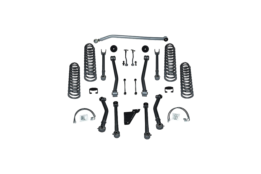 Rubicon Express 4.5in SuperFlex Short Arm Lift Kit No Shocks - JK 2dr