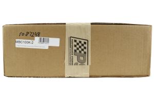 PSC Power Steering and Transmission Dual Cooler w/ Bracket Black (Part Number: )