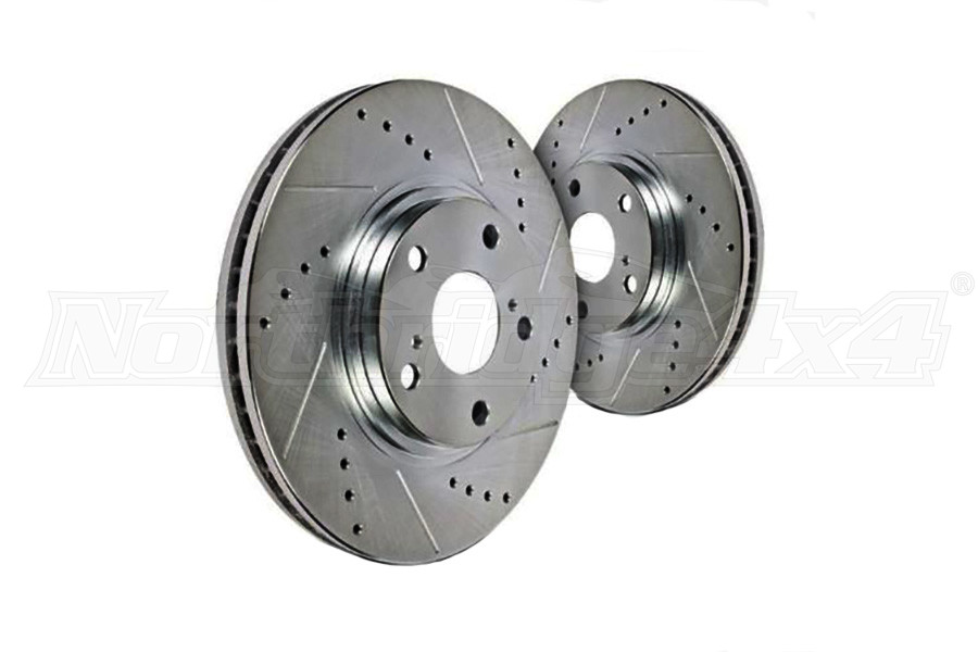 Hawk Performance Sector 27 Front Rotors, Pair (Part Number:HR4470)