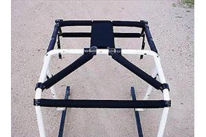 Rock Hard 4x4 Rear Overhead Angle Bars Padding Kit - TJ/LJ