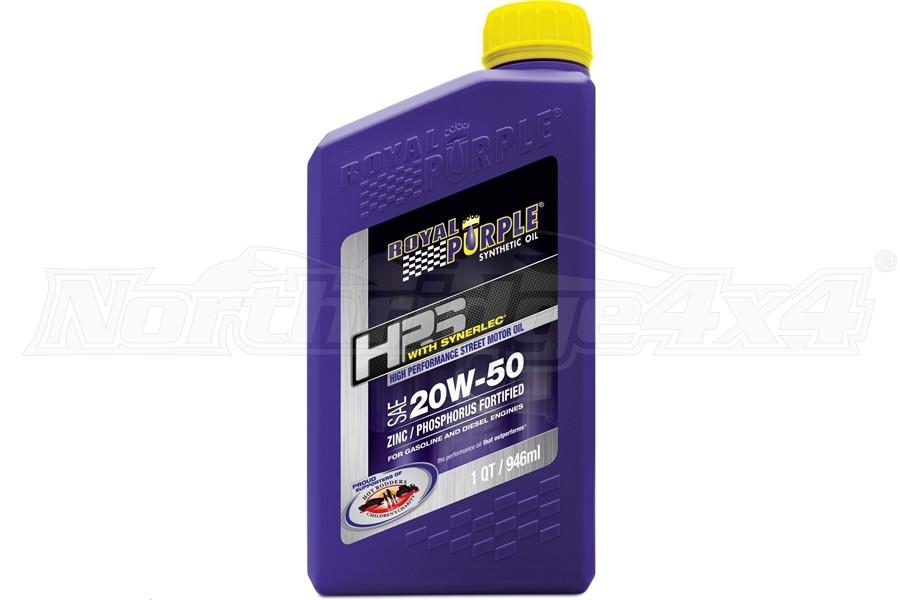 Royal Purple HPS High Performance Street Synthetic Motor Oil 20W-50 1 Quart