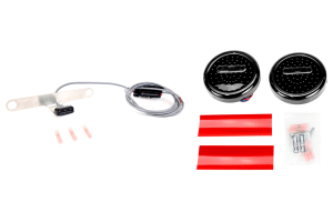 Off Road Only LiteDOT LED Tail Lights and PlateLITE Package ( Part Number: LD-RRW2-LD-PL6-KIT)