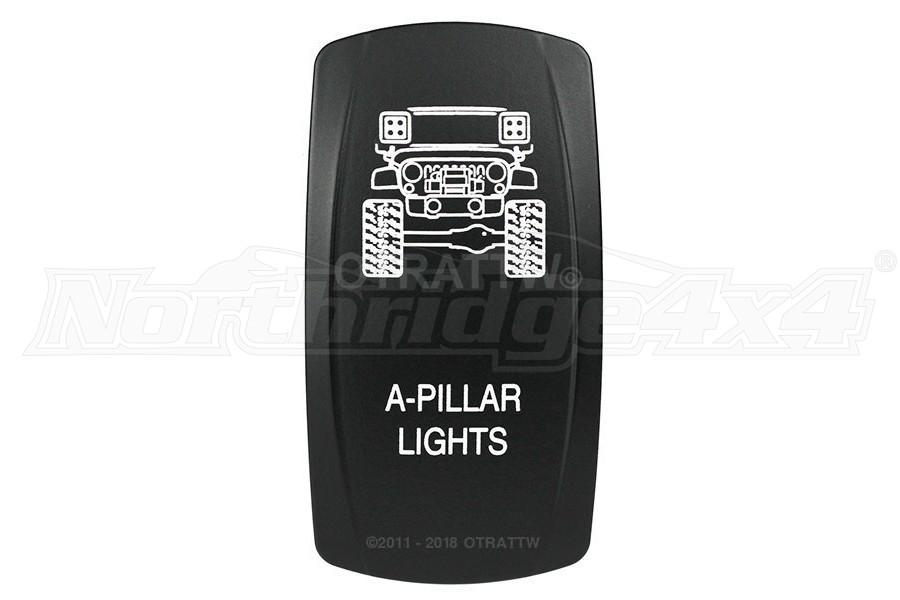 sPOD A-Pillar Lights Rocker Switch Cover
