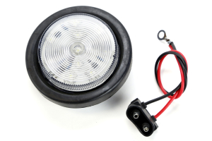 Poison Spyder LED Back-Up Light Clear 2.5in ( Part Number: 41-04-300)