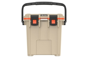 Pelican 20QT Elite Cooler  - Tan/Orange