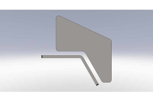 Clayton Rear 5 inch Frame Notch Kit - TJ