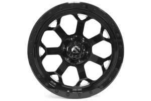 MHT Luxury Alloys Savage Wheel Black Milled 20x9 5x4.5 (Part Number: D56320902650)