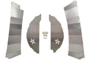 Crawler Conceptz Ultimate Aluminum Rear Inner Fender Kit (Part Number: )