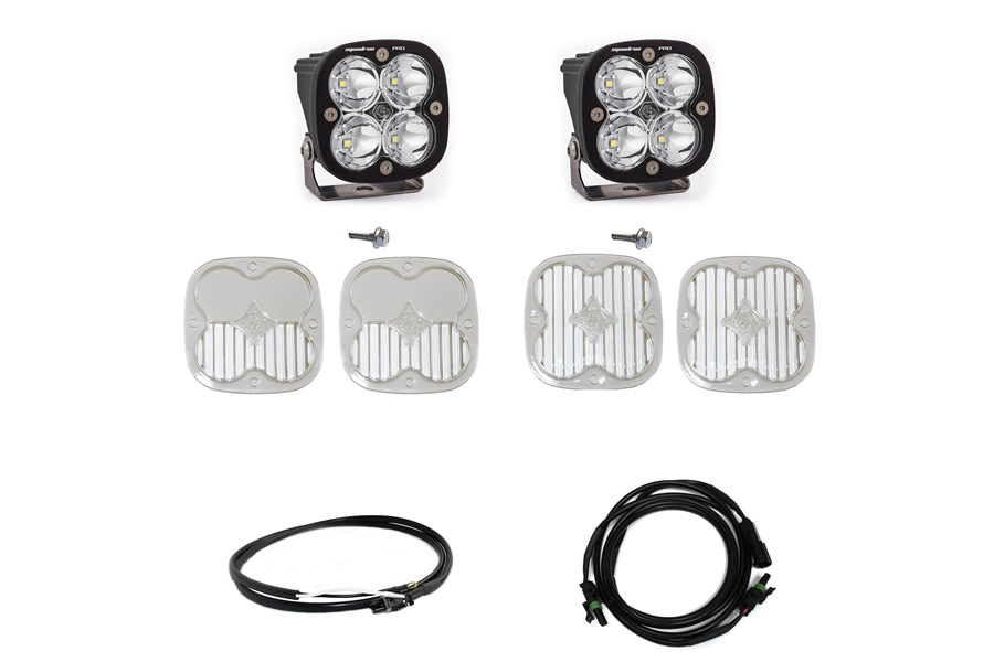 Baja Designs Squadron Pro Series A-Pillar Light Kit w/ Upfitter  - Ford Bronco