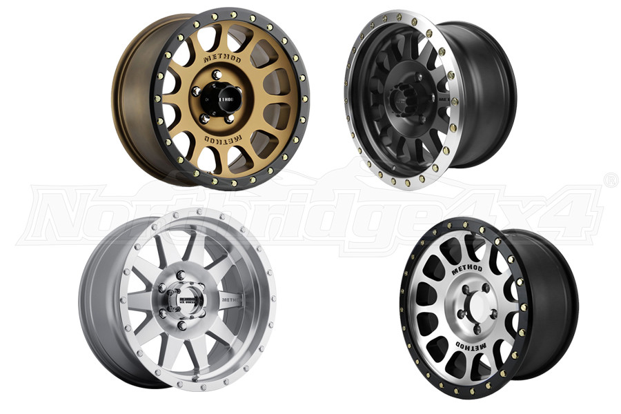 Method Race Wheels Non-Beadlock Wheels Package