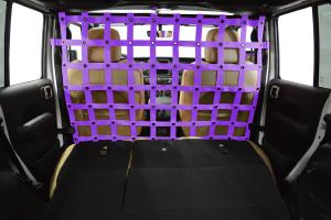Dirty Dog 4X4 Cargo/Pet Divider Purple - JL 4dr