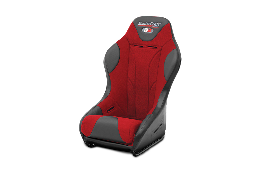 MasterCraft 3G Racing Seat Red / Black (Part Number:568012)