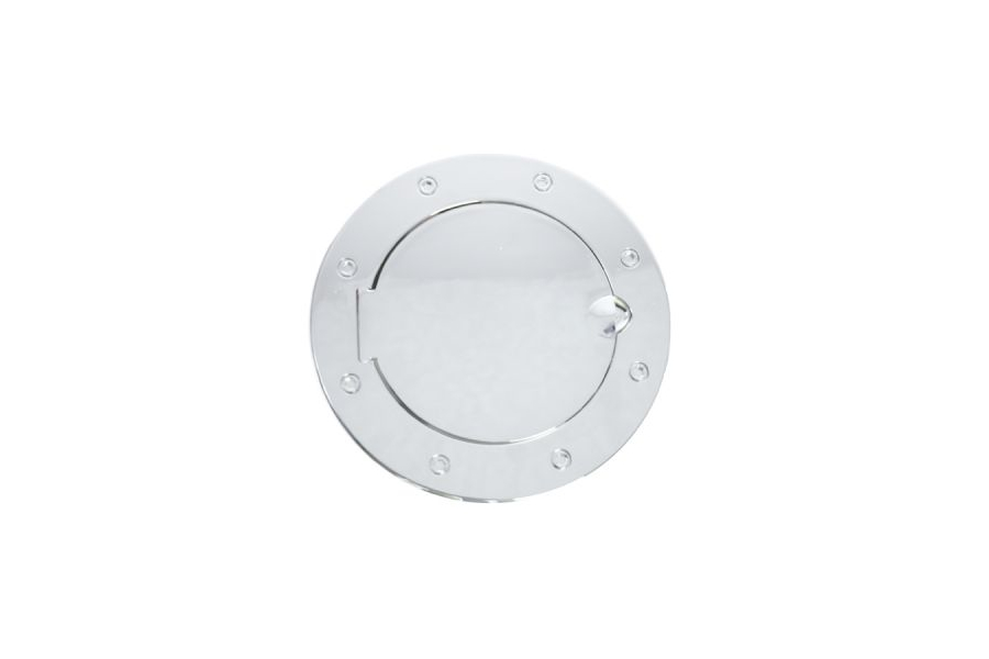 Rugged Ridge Non-Locking Stainless Steel Gas Cap Door (Part Number:11134.02)