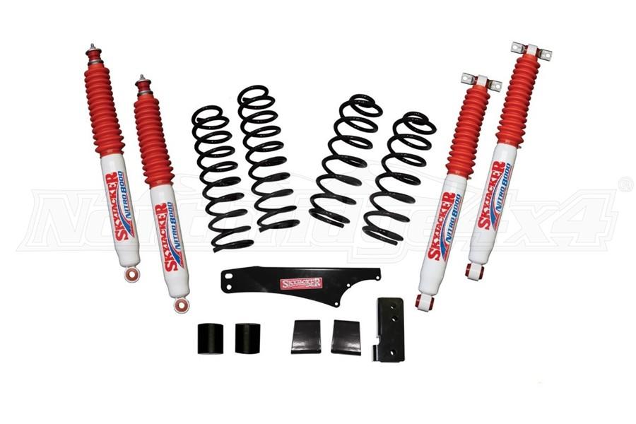 Skyjacker 2.5in Soft Ride Coil Spring Lift Kit w/ Nitro 8000 Shocks - JK 4Dr
