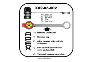 Apex Performance 3.0 Rapid Valve Cap and Lanyard Replacement Kit