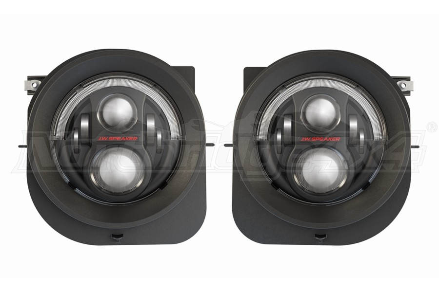JW Speaker 8700 Evolution 2R LED Headlight Kit - Black - Renegade 2015+