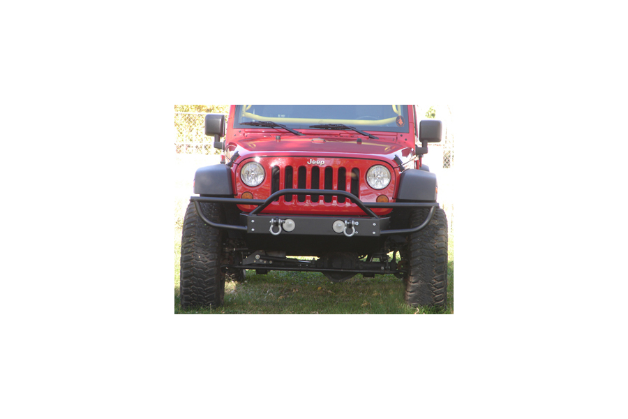 Rock Hard 4x4 Front Bumper w/Tube Extensions ( Part Number: RH-5003)