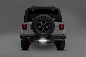 T-REX ZROADZ Rear Bumper Mounting Bracket w/one 10in Slim LED Light Bar and Wire Harness - JL