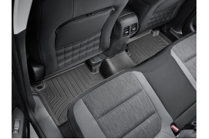 WeatherTech Front and Rear Floor Liner Set - Black - Ford Bronco Sport w/ Carpeted Floor
