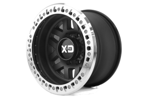 KMC Wheels XD229 Machete Beadlock Satin Black Wheel 17X9 8X6.5 ( Part Number: XD22979080738N)