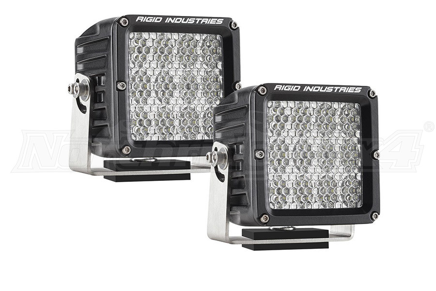 Rigid Industries D2 XL Specter Diffused Lights, Pair ( Part Number: 32271)