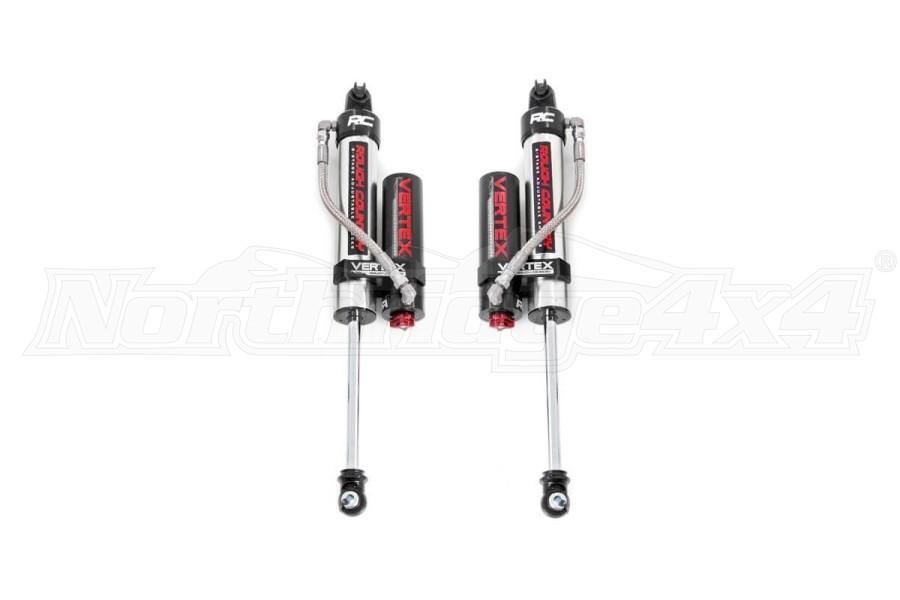 Rough Country Adjustable Vertex Rear Shocks 3.5-4in Lift - JK