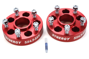 Synergy Manufacturing Hub Centric Wheel Adapter Kit 5x4.5 to 5x5 ( Part Number: 4112-5-45-50-H)