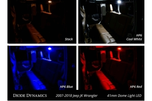 Diode Dynamics LED Conversion Kit Stage 2 Red (Part Number: )