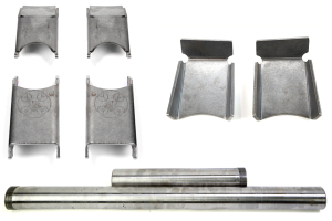 EVO Manufacturing 44 Magnum Axle Sleeves w/Control Arm Skids and C2 Gussets Kit (Part Number: )