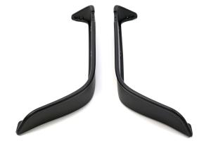 Bushwacker Flat Style Fender Flare Set Matte Black - LJ/TJ