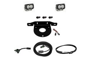 Baja Designs Dual S2 Sport W/C Reverse Kit w/ Upfitter  - Ford Bronco