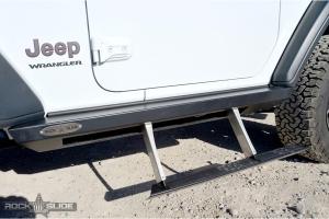 Rock-Slide Engineering Step Slider - Passenger Side - JL 2Dr