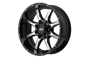 Moto Metal Wheels MO970 Series Wheel, Gloss Black 17x8 5x4.5/5x5 - JT/JL/JK