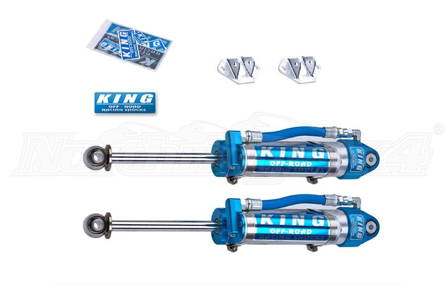 King Shocks 2.5 Performance Series Rear Shocks w/Piggyback Reservoir 0-2in Lifts (Part Number:25001-161)