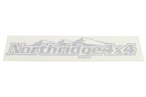Northridge4x4 Sticker Black 24IN