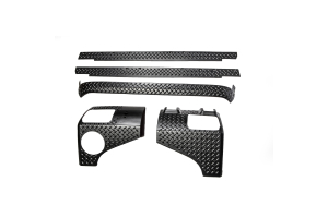 Rugged Ridge 5-Piece Body Armor Guard Kit (Part Number: )