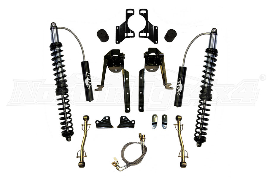 Skyjacker LeDuc Series Front Bolt On Coil Over Kit 3.5-6in Lift (Part Number:JK62FLS-KIT)