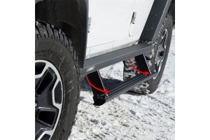Aries ActionTrac 69.6in Powered Running Boards  - Ford Bronco 4Dr