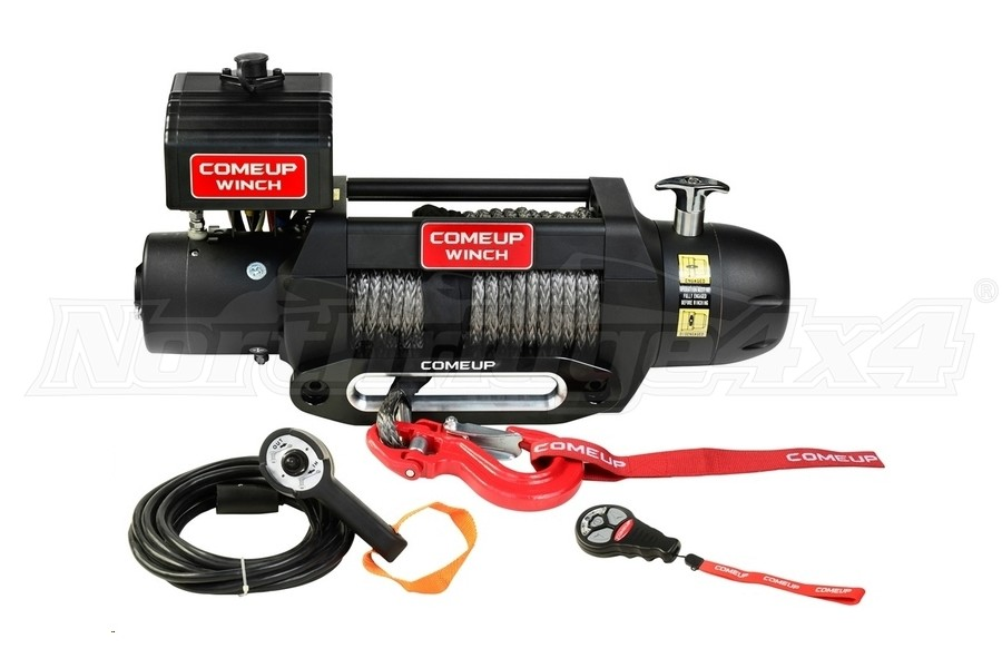 Comeup Seal Gen2 Series 9.5rs Recovery Winch w/ Synthetic Rope (Part Number:295955)