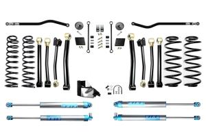 Evo Manufacturing HD 4.5in Enforcer Stage 4 PLUS Lift Kit w/ King 2.0 Shocks - JL
