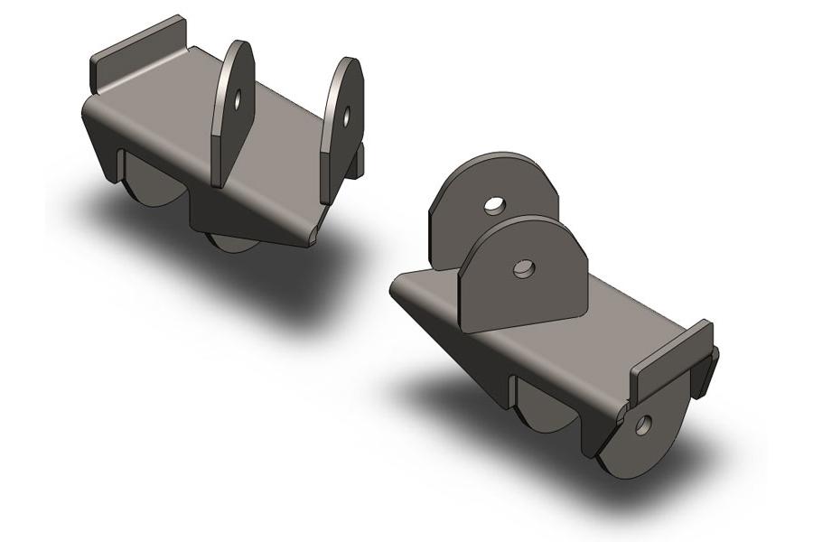 Clayton Rear Frame Brackets  (Part Number:2205020)