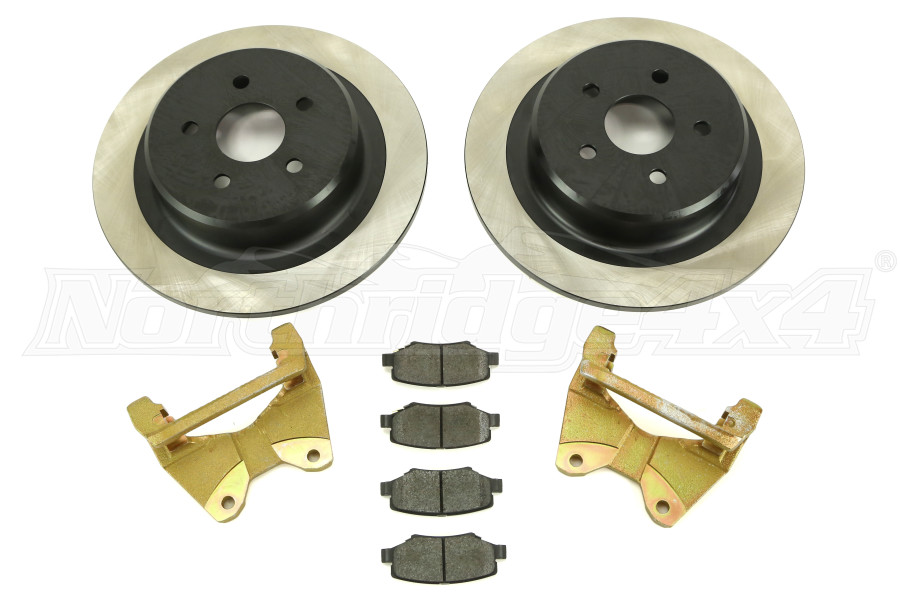 Dynatrac Progrip Performance Rear Brake System (Part Number:JK44-1X1125-B)