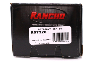Rancho Performance RS7000MT Series Shock Rear, 2IN Lift  (Part Number: )